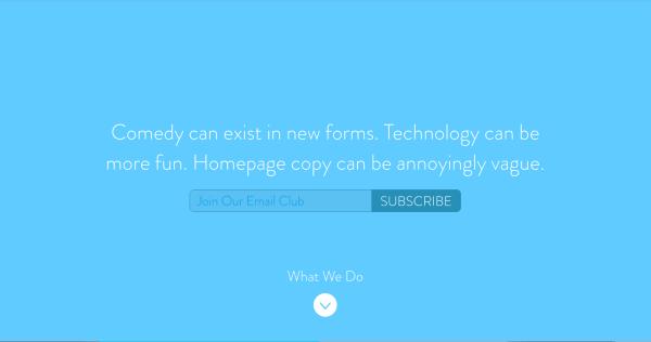 انشاء صفحة الهبوط عملية مهمةأثناء تصميم موقع الكتروني