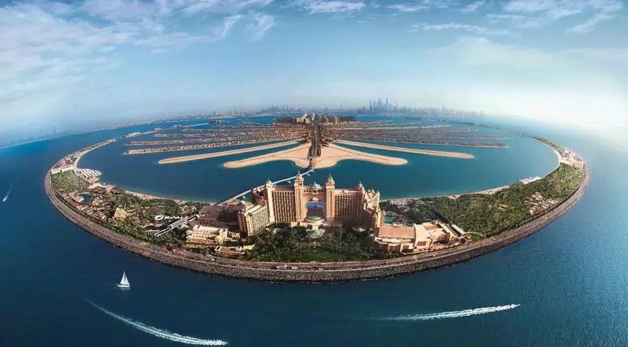 جزر الامارات السياحية