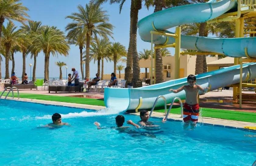 منتجع جولدن توليب خليج الدانة