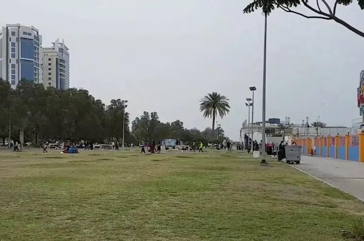 كورنيش المارينا في البحرين