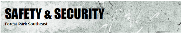 Safety and Security Website Banner