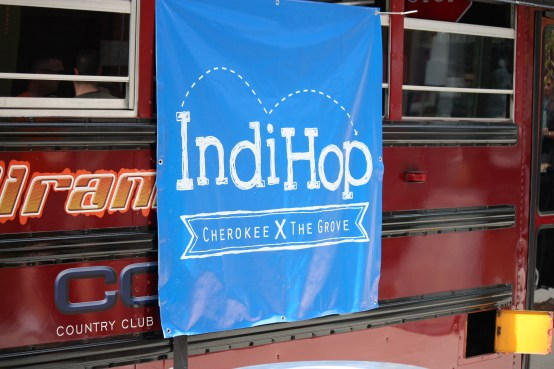 IndiHop Shuttles are Marked.