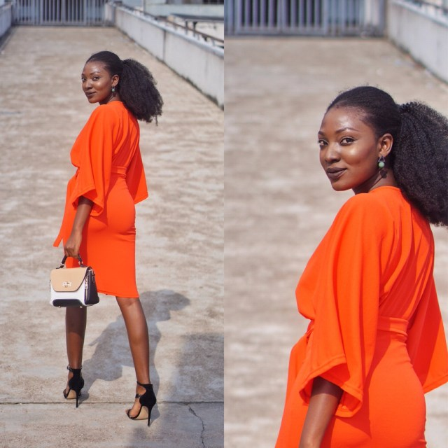 Bright Colors Exaggerated Sleeves Nigerian Style Blogger Wumi Tuase
