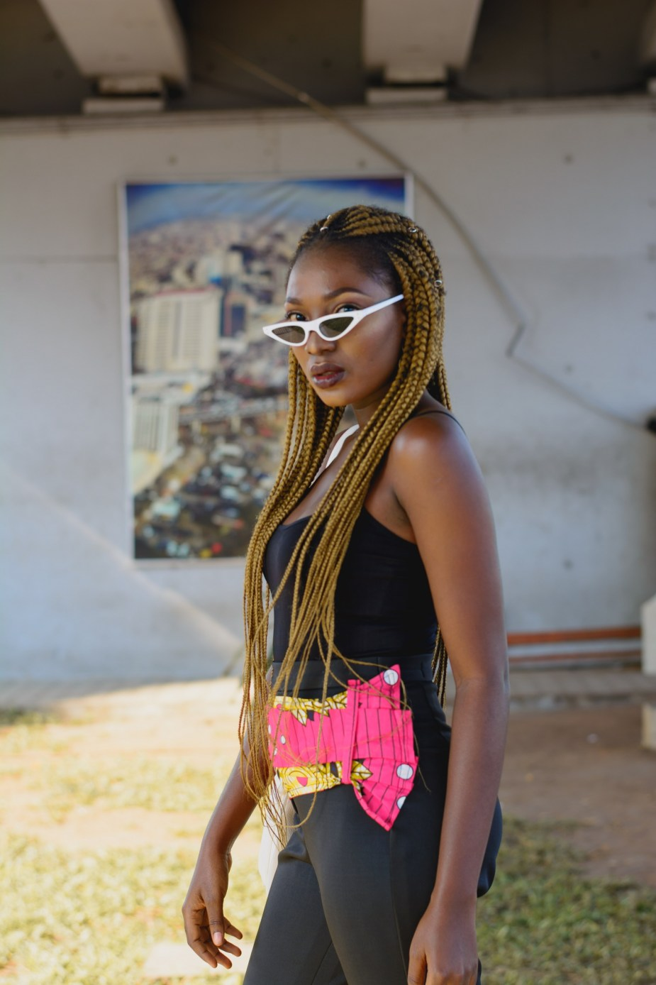 How To Wear All Black outfit in Summer- Nigerian Style Blogger Wumi Tuase