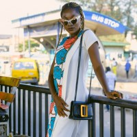 Plain & Pattern Ankara Shift Dress- Styling Tips