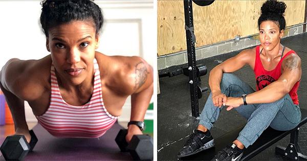 Black female fitness influencer