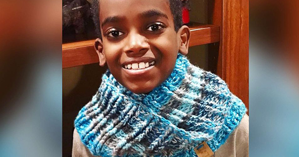 Jonah Larson, crochet prodigy and author