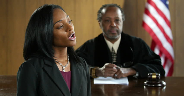Black woman lawyer