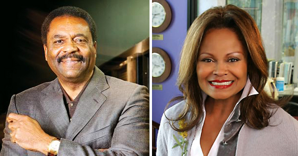 Billionaires David L. Steward and Janice Bryant Howroyd
