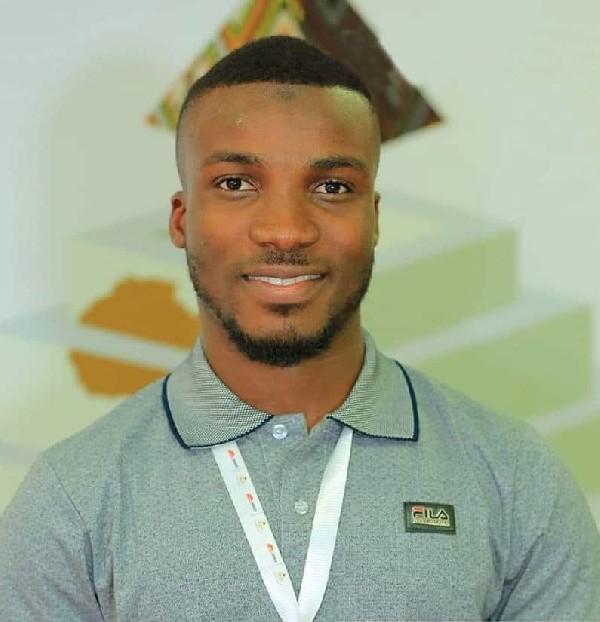 Founder of the Ghana Fruit Cart, Ahmed Jamaldeen Yahsir