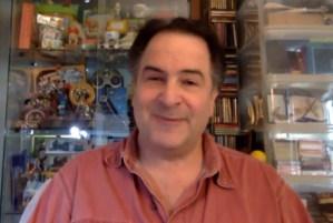 Screenshot aus dem Interview mit Richard Kaufman
