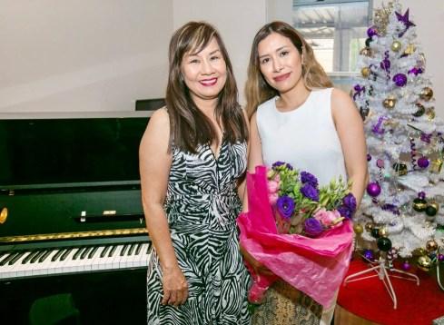 Julia Hoang (left) - Qualified Piano Teacher