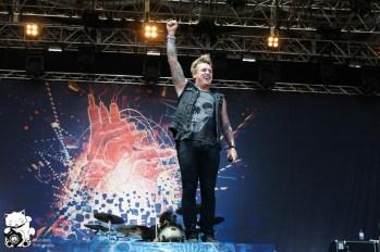 Papa Roach Nova Rock 2013