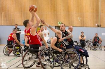 Köln 99ers I - BSC Rollers Zwickau im Spiel um Platz 3 Foto: St