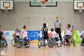 RBC Köln 99ers II - Paderborn Ahorn Panther Foto: Steffie Wunde