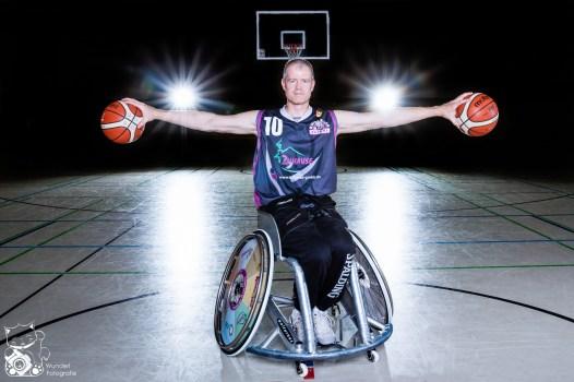 Mike - Rollstuhlbasketballer