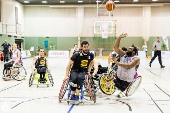 Saison 2017/18: Rhine River Rhinos vs. Baskets 96 Rahden