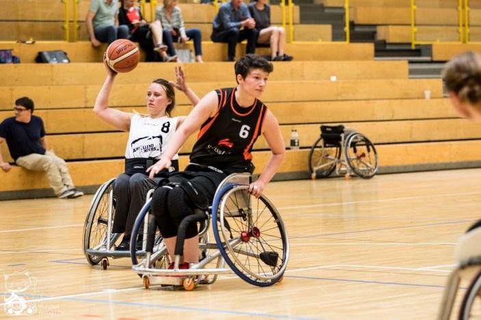 Hessen gewinnt nach Overtime mit 33:32 gegen Niedersachsen. Kuhberghalle Ulm, Deutschland.