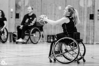 NRW gewinnt mit 41:35 gegen Malmö. Kuhberghalle Ulm, Deutschland.