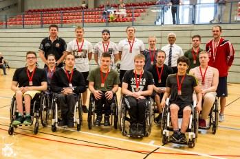 Die Platzierungen des Junioren Länderpokals 2018: 1. Team Hessen 2. Team Nord 3. Team Baden Württemberg / Rheinland-Pfalz 4. Team NRW 5. Team Bayern 6. Team Ost