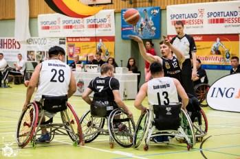 Die deutschen Herren schlagen die Herren aus Südkorea mit 80:47 (HZ 44:22) beim World Super Cup 2018. Frankfurt, Skywheelers Dome.