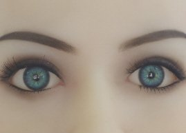 Blaue Augen Real Doll