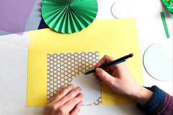 DIY - Cocarde papier cercle - Wundertute