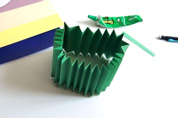 DIY - Cocarde papier rosace assemblage- Wundertute