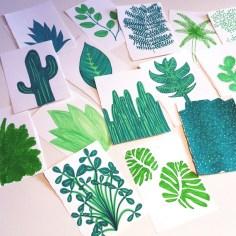 dessin plantes - wundertute