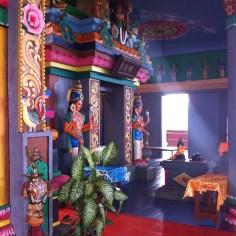 interieur temple tamoul La Reunion - Wundertute