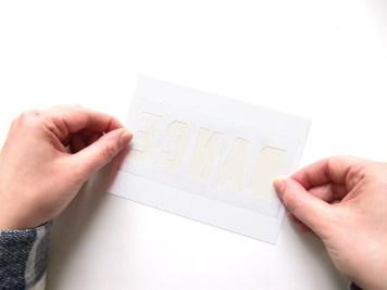 DIY - carte confetti transparent - Wundertute