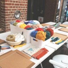 Atelier tissage - wundertute