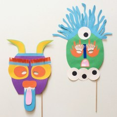 Masques en papier
