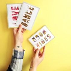 Carte confetti