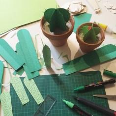 diy - atelier cactus en papier - wundertute