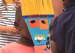 atelier enfant masque - wundertute