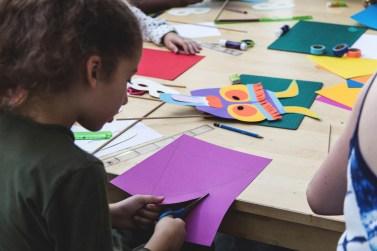 atelier enfants masque papier - wundertute