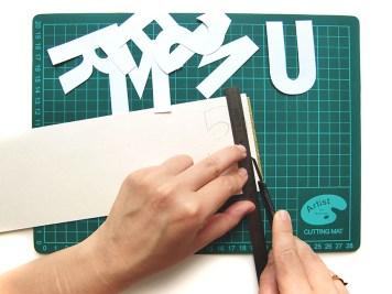 DIY - banderole de fete - wundertute coupe lettres 2