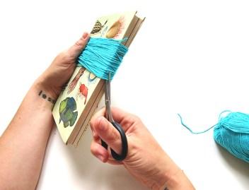DIY - banderole de fete - wundertute coupe meches