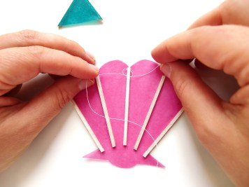 23 - DIY - mobile ete enfants - wundertute - noeud coquillage
