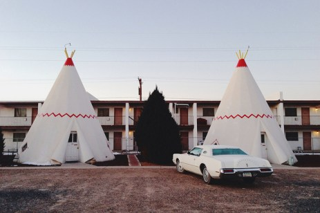 sans source - Wigwam Motel in Holbrook Arizona