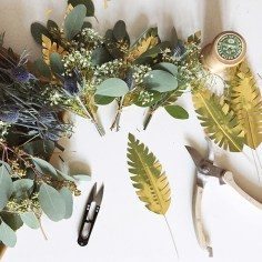 atelier fleur sechee noel - wundertute