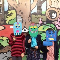 atelier masque papier - wundertute