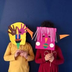 masque papier wundertute 1