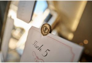 Tischplan - Hochzeitsdekoration