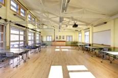 Maple classroom floor Tyson Research Center Washington University
