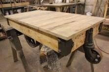 WunderWoods Nutting maple lumber factory cart refurbished