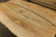 WunderWoods spalted maple live natural edge table detail