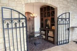 WunderWoods white oak wine cellar Silver Oaks