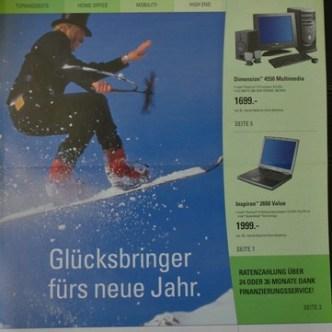 IT Computer: Enduser-Flyer für Dell Computer